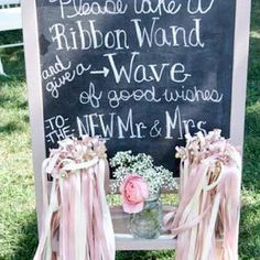 8 best wedding steamers on a stick images on Pinterest | Ribbons ...