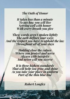 9 Best End of Watch Law Enforcement Poems images in 2017 ...