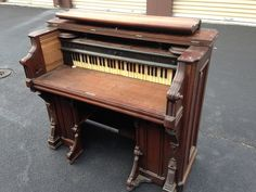 A pianist salvaged this antique organ and a few steps later? This is so stunning!