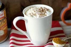 Low fat pumpkin spice latte