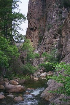 Devils Gateway, Los Padres National Forest