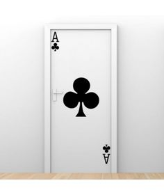 As Poker Arte Nas Paredes, Wall Drawing, Creative Walls, Wall Design, Door Design, House Design, House Doors, Black Rooms, Office Walls