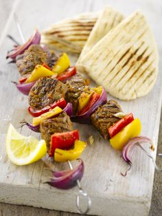 kabob grill no recipe just a picture for idea of what to cook