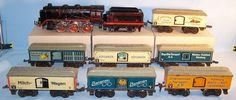 Bub Kompletter Vorkriegs Zug, Spur 0, 30er Original (29341/29347/29353)