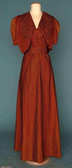 Augusta Auctions - Halter maxi dress - England, 1970's