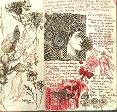 Gill Cook art journal