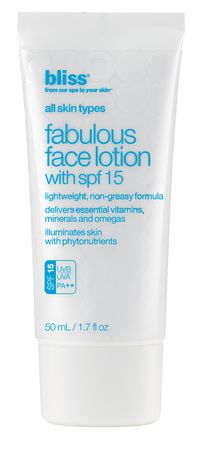 Bliss - Fabulous Face Lotion With Spf 15 (1.7oz) | Sephora