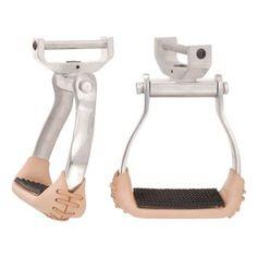 Tough-1 Aluminum Swivel and Lock Stirrup - 57-2045-23-2.5