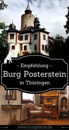 Die Burg Posterstein im Grenzgebiet zwischen Sachsen und Thüringen gehört für mich zu den interessantesten Sehenswürdigkeiten der Region.