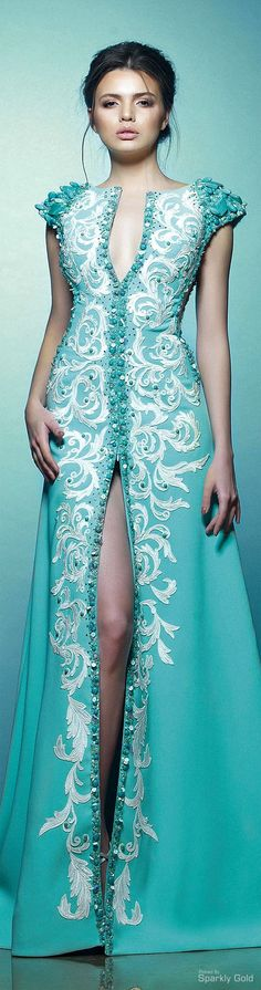 """What Queen Margaery Tyrell would wear"""" Saiid Kobeisy Haute Couture"""" Kaftan, Traje A Rigor, Runway Fashion, High Fashion, Mode Inspiration, Mode Style, Beautiful Gowns, Dream Dress, Elegant Dresses"""