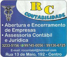 RC CONTABILIDADE Acessória Contábil e Jurídica