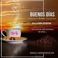 Buenos días gente linda de OLA-LA ROPA DEPORTIVA!!! Tengan un fin de semana cargado de nuevas ideas y de muchos éxitos para todo lo que deseas realizar. ☕ http://ola-laropadeportiva.com/ Contáctenos por whatsapp al +57 3188278826. #BuenosDias #buendia #goodDay #felizviernes #viernes #weekend #findesemana #friday #frases #frase #quotes #words #cafe #coffe #pasión #nuevacolección #Unlimited #Coomingsoon #Fitness #Enterizos #Descuentos #Fitnessfreak #Crossfit #Fit #TRX #olalaropadeportiva…