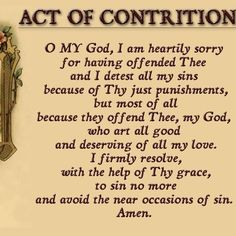 Let us go to confession for first Saturday !