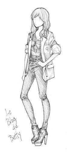 chicas hipster dibujo - Buscar con Google | Anime
