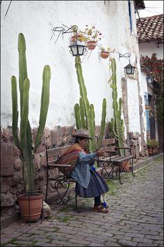 Cusco-Perù- Clara Bosso. Repinned by Elizabeth VanBuskirk.