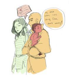 Linzin and Iroh