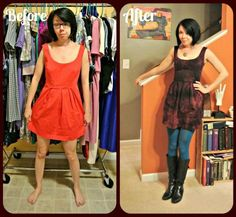 thinking I need to Rit Dye some of my faded clothes. This Refashionista blog is worth following if you plan to rework some thrift finds or just improve your current closet!
