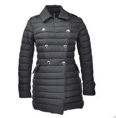 Moncler Seon Euramerican Style Coat For Women Black