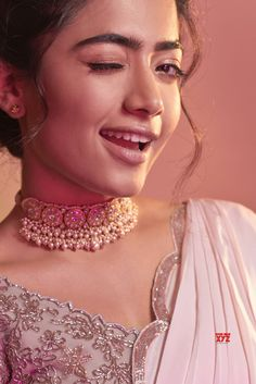 Actress Rashmika Mandanna Looks Pretty in Pink saree.Actress Rashmika Mandanna, Looks Pretty , Pink saree,Bheeshma, Mahesh babu Beautiful Blonde Girl, Beautiful Girl Photo, Beautiful Girl Indian, Stylish Girl Images, Stylish Girl Pic, Most Beautiful Bollywood Actress, Beautiful Actresses, Prettiest Actresses, Girl Photos