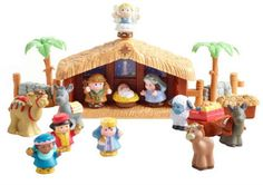 Little People Nativity set is only $21.99 while supplies last! | ChaosIsBliss.com