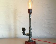 Industrial Pipe Table Lamp (TL-10)