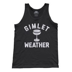This summer drinking shirt is perfect for gin enthusiasts. Order this classic cocktail next time you're at the bar and looking for a cool refreshing Gimlet to quench your thirst. Shirt Info: - pre-shrunk, baby soft, light weight, ringspun cotton - hand printed in the USA with eco-friendly water-based inks - relaxed unisex fit -- perfect for both men and women Our unisex tank tops made made of soft, light weight ringspun cotton. We print our designs using eco-friendly water-based inks. All of…
