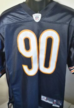 Chicago Bears Julius Peppers On Field Stitched NFL Jersey Mens Reebok Medium  #Reebok #ChicagoBears