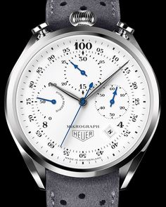 TAG Heuer Mikrograph 100th Anniversary Chronograph Watch For 2016 Watch Releases