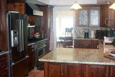 5 Favorite Granites for Gorgeous Kitchen Countertops at elegantgranites.com