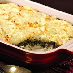 Layered Mashed Potato & Mushroom Casserole - EatingWell.com
