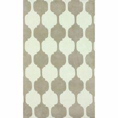 nuLOOM Handmade Modern Chess Trellis Beige Rug (3' x 5') - Overstock™ Shopping - Great Deals on Nuloom 3x5 - 4x6 Rugs