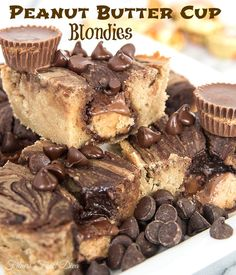 ... | Macadamia Nut Cookies, White Chocolate and Peanut Butter Cups