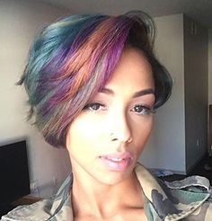 Dope color combo via @billiejross  Read the article here - http://blackhairinformation.com/hairstyle-gallery/dope-color-combo-via-billiejross/