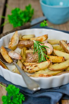 do. Roast potatoes with Lemon Vinaigrette. It coats that potatoes ...