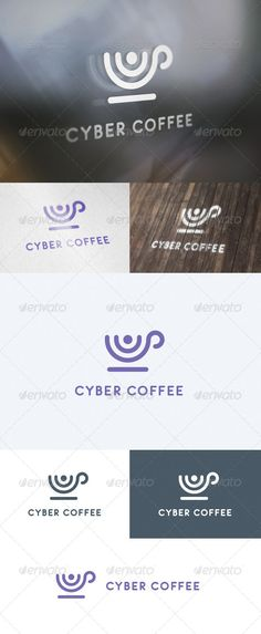 Cyber Coffee Logo