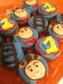 Thomas the Train Cupcakes at Sugar Rush in Wallkill NY
