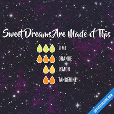 sweet dreams are made of this diffuser blend