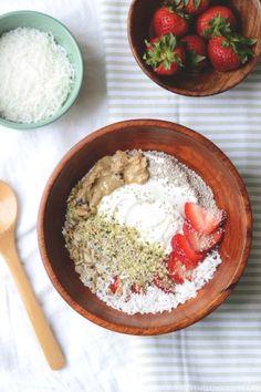 Coconut Strawberry Breakfast Bowl
