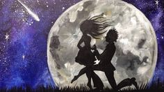 Beginner  Acrylic Tutorial | Couple in Love  Painting | The Art sherpa