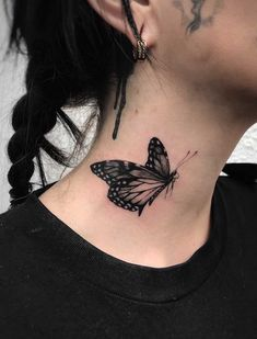 53efca72b962b Butterfly Tattoo by Ed Taemets Classic Tattoo, Bad Tattoos, Butterfly  Tattoos, Tattoo Artists