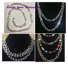 """Silver lynx mialisia Versastyle jewelry looks."" by princessmom113 on Polyvore"