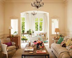 Llena tu salón de primavera por muy poco · ElMueble.com · Salones