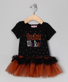 Any little princess will sparkle in this terrific top. With cuddly material, a ruffle skirt and blingin' embellishments, this piece dazzles with playful pizzazz.