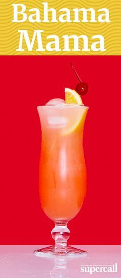 die besten 25 bahama mama cocktail ideen auf pinterest nicht alkoholische getr nke. Black Bedroom Furniture Sets. Home Design Ideas