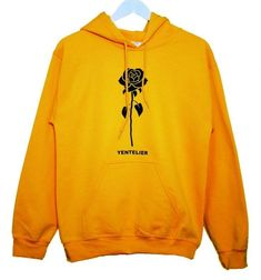 Visit our website for more details... Cute Casual Outfits, Stylish Outfits, Fashion Maker, Aesthetic Hoodie, Yellow Hoodie, Branded Shirts, Cool Hoodies, Girls Wear, Look Cool