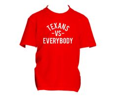Toddlers Texans vs Everybody Tee