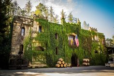 Chateau Montelena Winery in Napa Valley, California