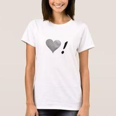 Silver Heart ! T-Shirt - Saint Valentine's Day gift idea couple love girlfriend boyfriend design
