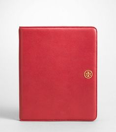 I desperately want this!!! Someone talk me out of it??? Tory Burch Robinson E-Tablet Case, $195.00