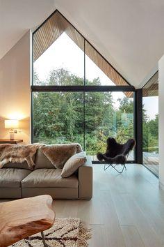 Off-the-Grid Englisch zu Hause in einer abgelegenen Lagune - Baustil Home Design Decor, Home Interior Design, House Design, Home Decor, Design Ideas, Design Styles, Off The Grid, Home Designer, Decor Scandinavian